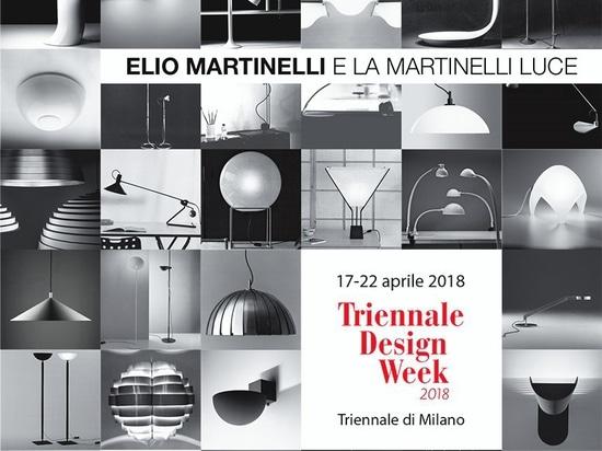 Elio Martinelli e la Martinelli Luce, la mostra a La Triennale