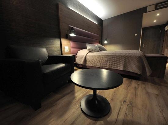 Mobilspazio ha curato l'arredo di Hotel Kriunes, Islanda