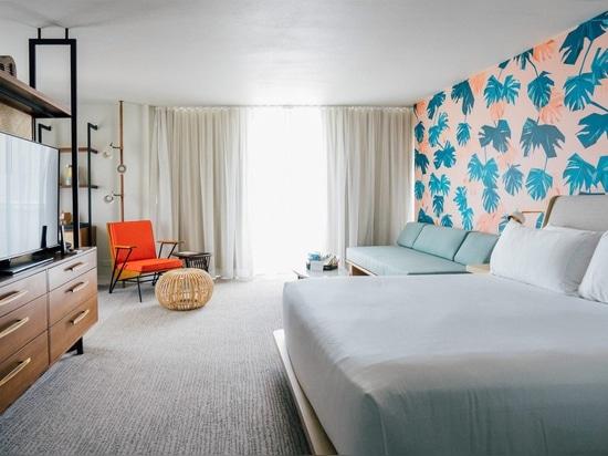 Marcare a caldo e gli interni degli aggiornamenti di OMFGCO per le Hawai Laylow hotel