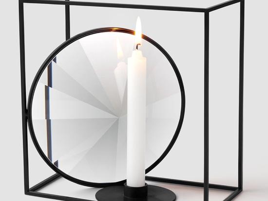 Nendo progetta i vassoi e gli accessori a cristallo per l'atelier Swarovski a casa