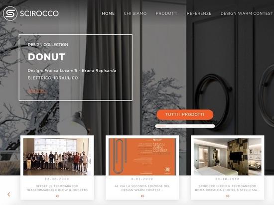 Scirocco H nuovo sito web