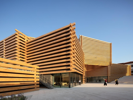 OMM di Kengo Kuma and Associates apre le sue porte in Turchia