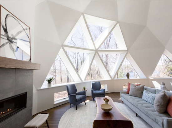 Designer rivisita con stile una cupola geodetica