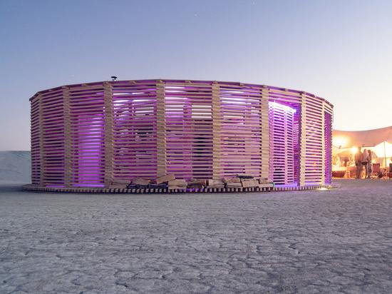 Padiglione Vapore di vita / Architetti JKMMM Architetti