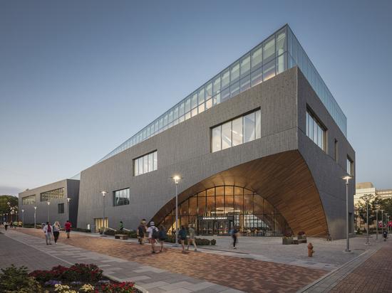 Biblioteca Carlo all'Università del Tempio / Snøhetta