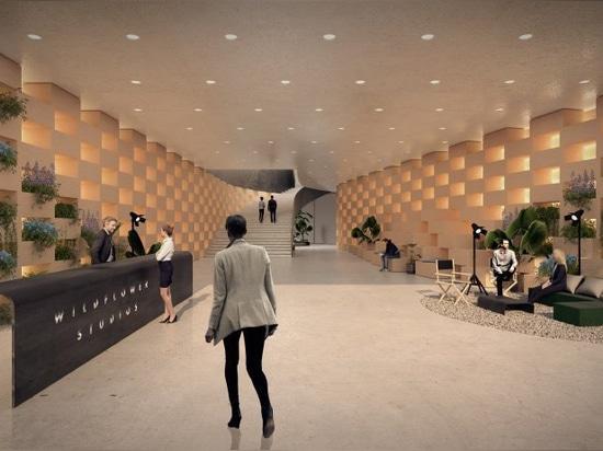 """bjarke ingels group sta progettando un """"villaggio verticale per il cinema"""" a NYC"""