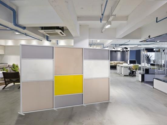 Pannelli divisori Tetrix ufficio
