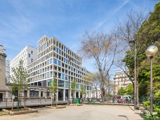 Eco-distretto di Clichy-Batignolles a Parigi