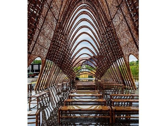 Padiglione di bambù