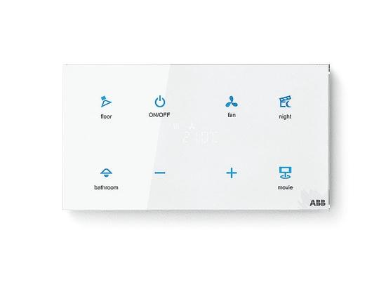 Sensore ABB-tacteo® KNX Sensore Busch-tacteo® KNX-Sensor