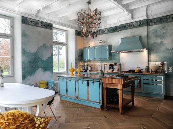Officine Gullo presenta il nuovo progetto Pastel Turquoise e Nichel Satinato