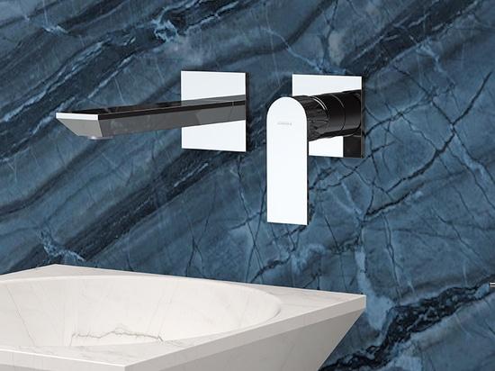 Miscelatore moderno a incasso AVENUE per lavabo