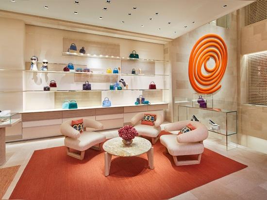 Peter Marino incanala la felicità per la ristrutturazione del negozio Louis Vuitton a Londra ovest