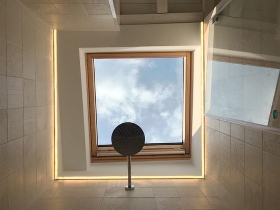 L'arte del Kintsugi: Diametro 35 di Ritmonio per la ristrutturazione di un appartamento ligure.