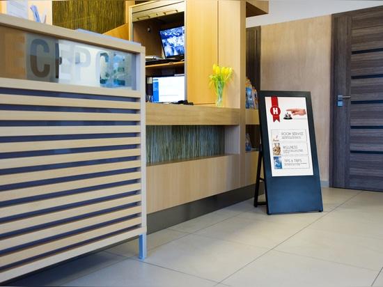 chiosco digitale interattivo