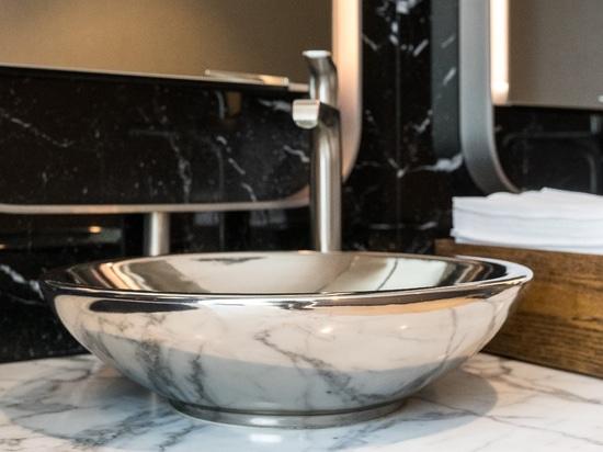 Lavabi in platino per progetti di alta classe