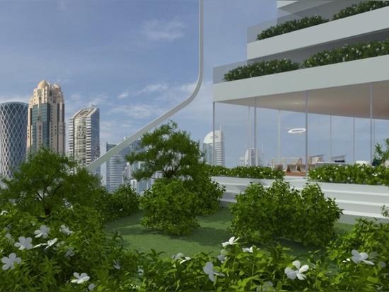 Luca Curci Architects propone una Città Verticale del futuro autosufficiente