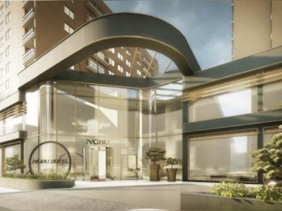 Il rinomato Nobu Hotel di Londra sceglie ALUMIL
