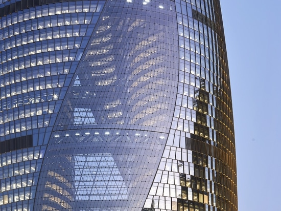 Leeza SOHO Tower di Zaha Hadid Architects