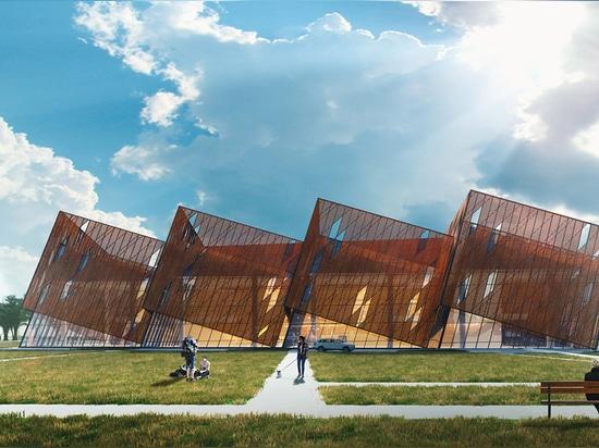 CHIZA Architectural Bureau presenta il design per la nuova sala banchetti di Baku in Azerbaigian