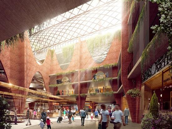 Woods Bagot svela il design per il mercato centrale di Adelaide Arcaded in Australia