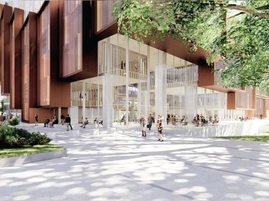 3XN, Aspect design nuovo 'cuore' del campus di Kensington di UNSW