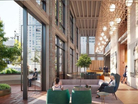 Il design in mattoni riciclati di Crone vince il concorso per la torre dell'hotel