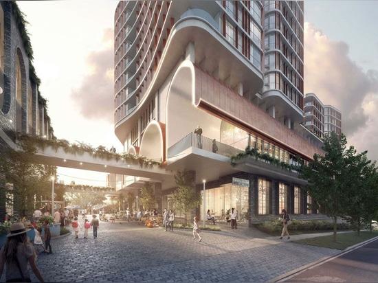 """Famiglia scultorea di torri"""" proposta per la periferia di Brisbane"""