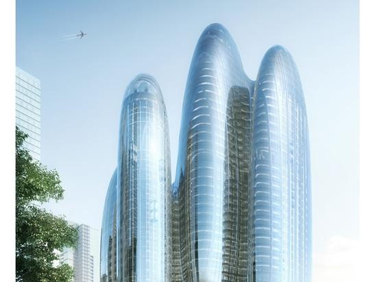 Il progetto oblungo di Zaha Hadid Architects per la sede centrale di OPPO Shenzhen