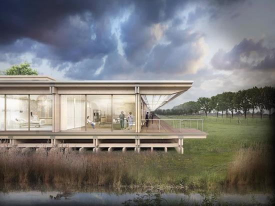"""prototipo di studio progetta una """"casa vitale"""" prefabbricata per combattere COVID-19"""