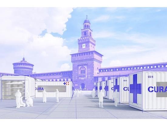 CURA propone di trasformare i container di spedizione in ospedali di emergenza COVID-19
