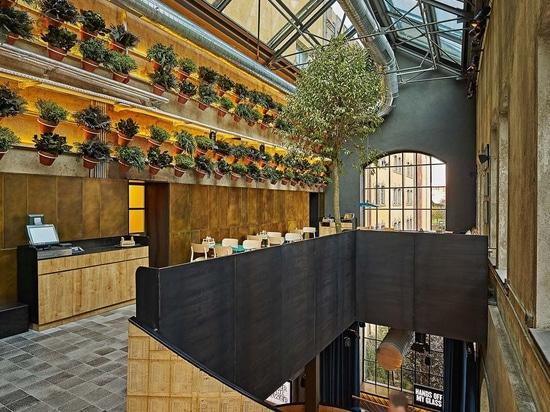 Lagranja Design combina luce e atmosfera accogliente negli interni della fabbrica di birra populista di Istanbul