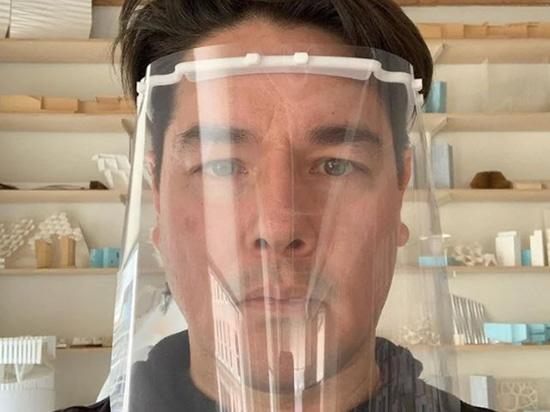 Bjarke Ingels Group e altri architetti Stampa 3D di visiere in 3D per il personale medico di coronavirus