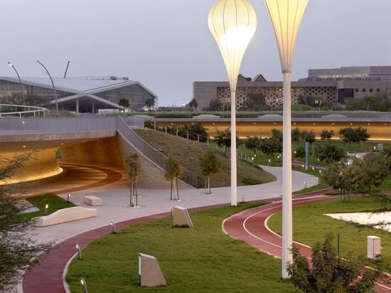 Il Qatar's Oxygen Park è l'antidoto perfetto al caldo del deserto