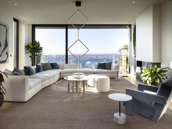 All'interno del progetto di interior design di Cassina al Television Centre di Londra