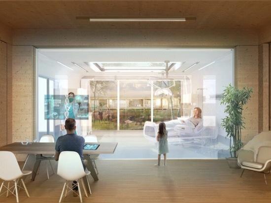 Ospedali prefabbricati pop-up proposti come centri sanitari durante le pandemie