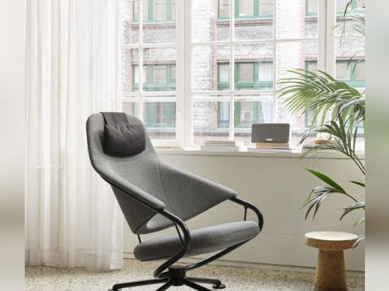 Rivoluzione dell'ufficio con la sedia sospesa di Grcic ispirata alle amache