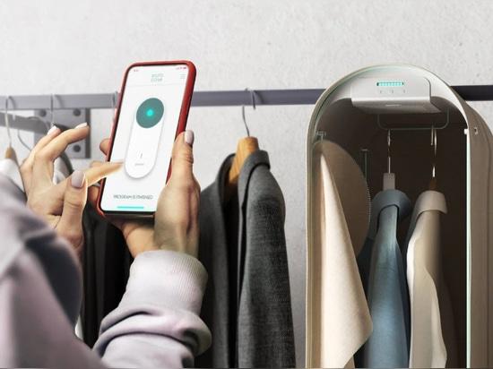 Pura-Case di Carlo Ratti usa l'ozono per purificare i vestiti