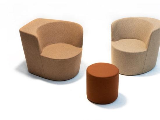 Moroso presenta la Taba multifunzionale per vivere, sedersi, parlare e lavorare