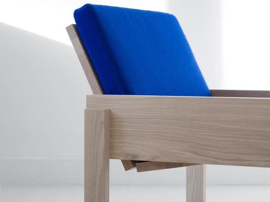 La sedia Simple Solid Chair di Thijmen van der Steen