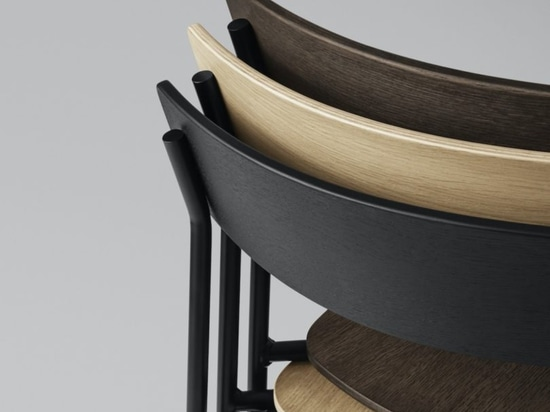 The Minimalist Cross Chair Tube di PearsonLloyd per Takt
