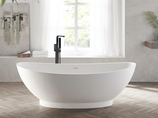 Vasca da bagno a superficie solida autoportante Annecy