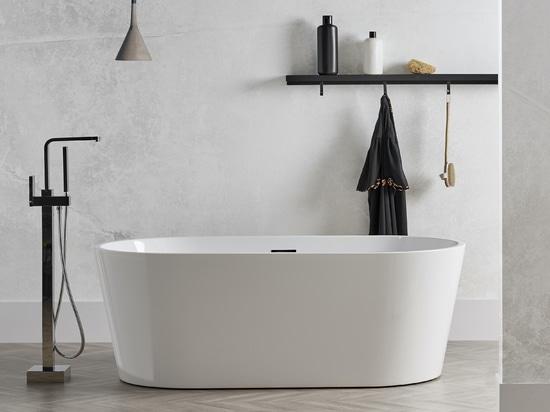 Vasca da bagno autoportante in acrilico di Bruges