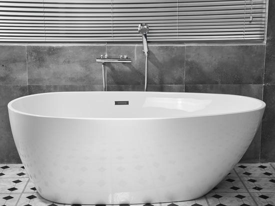 Vasca da bagno in acrilico autoportante EGG