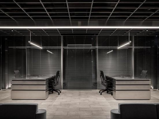La fantascienza incontra il design moderno in questo studio di Tokyo