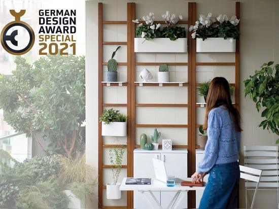 Unopù ottiene la Special Mention per il German Design A-ward 2021 con Urban Balcony