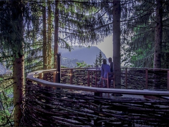 Monte Bianco - Ogni casa sull'albero ha una vista sul Monte Bianco.