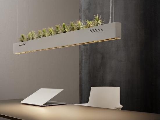 Pure BioAir, una lampada di Olev che igienizza gli interni