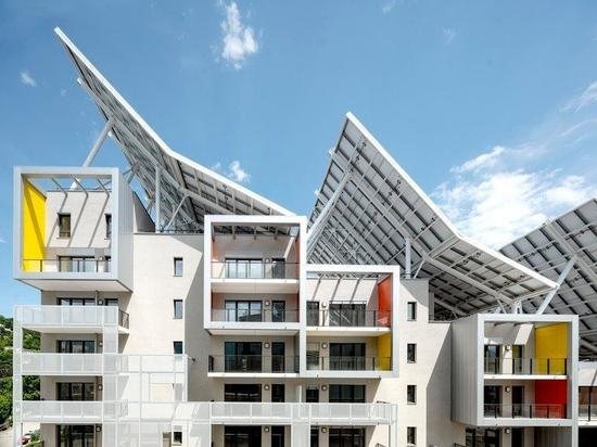 Valode & Pistre prevede un complesso residenziale autosufficiente per Grenoble, Francia
