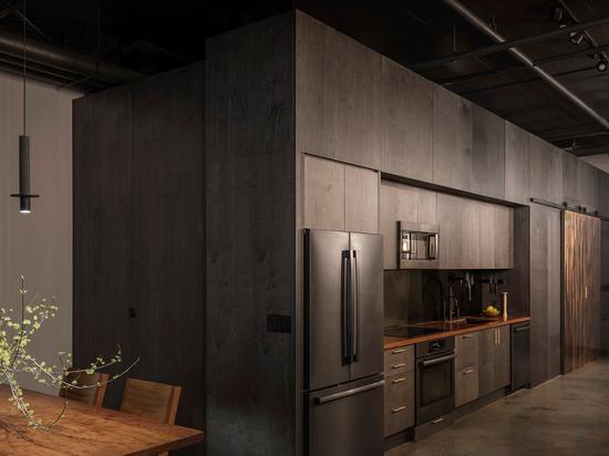 Western Studio. Per gentile concessione dello studio di architettura statunitense GoCstudio.